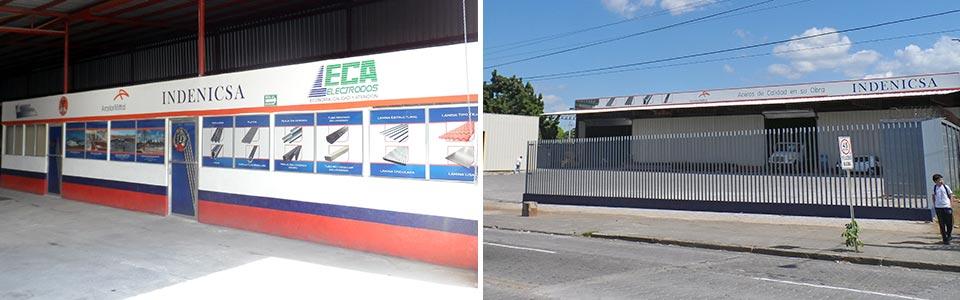 Sucursal Managua, El Edén - INDENICSA